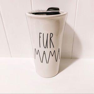 Rae Dunn Fur Mama Tumbler